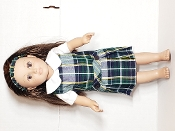 SJB PLAID DOLL JUMPER